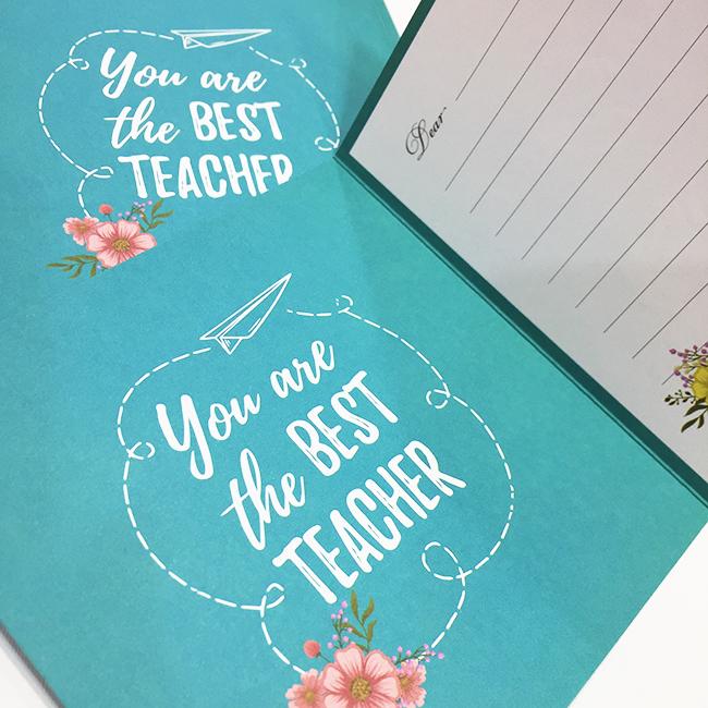 Thiệp tặng thầy cô