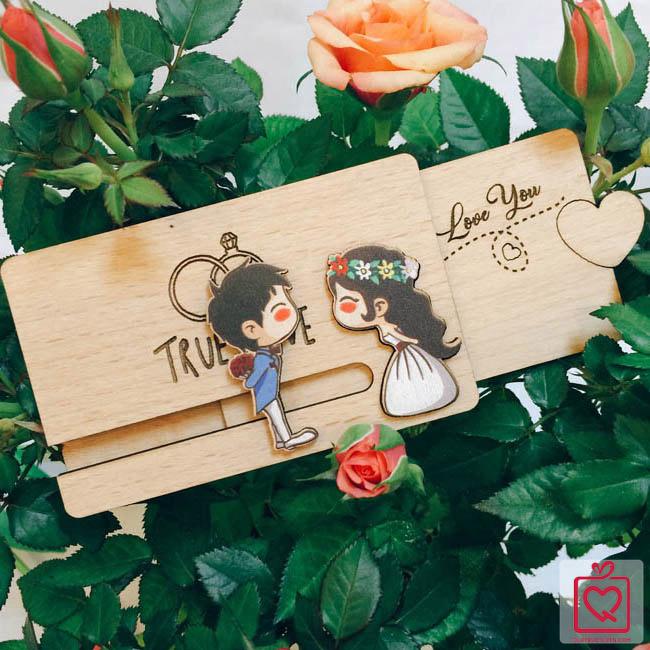 Thiệp kéo tình yêu