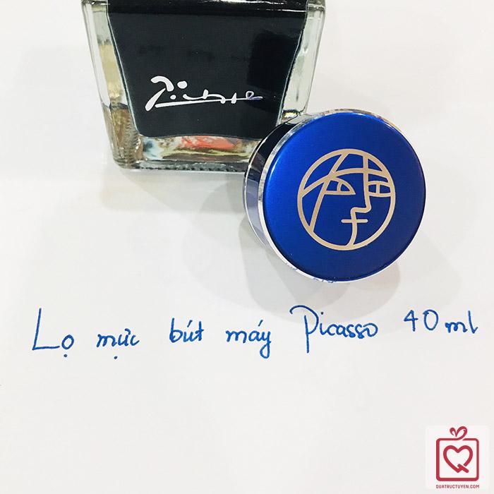 Lọ mực Picasso 40ml xanh