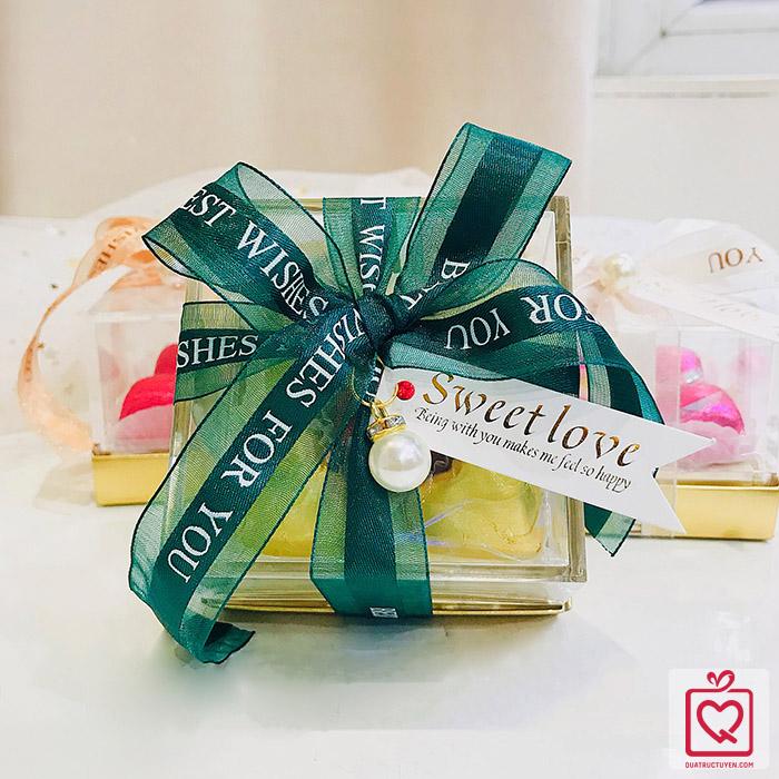 Socola Luvchocolate Trái Tim Vàng Son