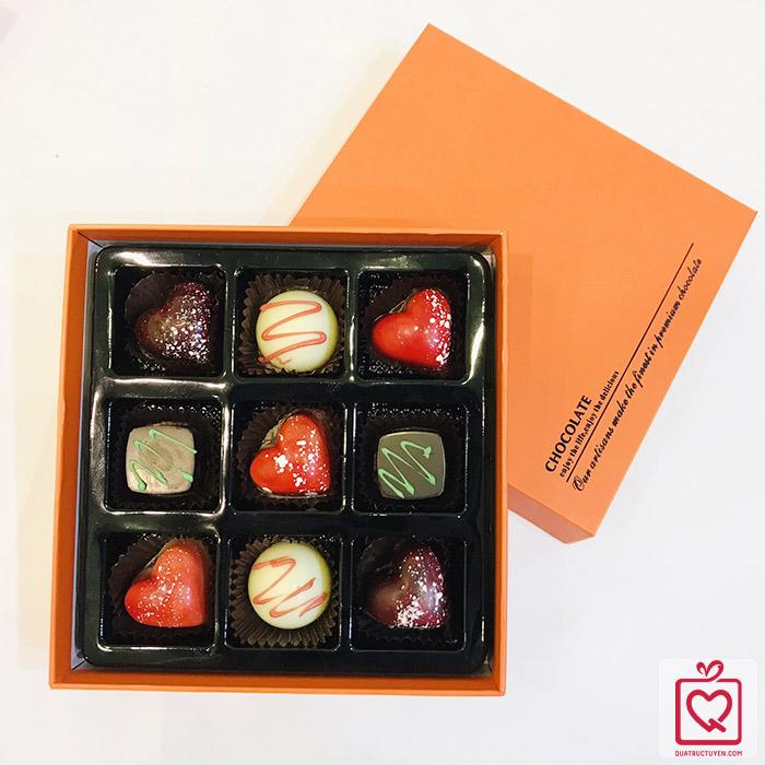 Socola Valentine muôn vị yêu