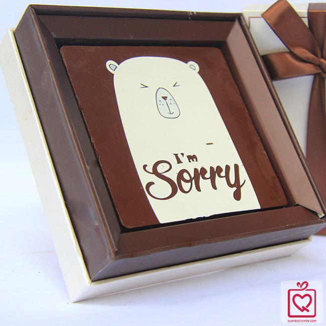 Socola xin lỗi