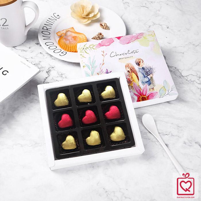 Socola Valentine Tình yêu màu nắng