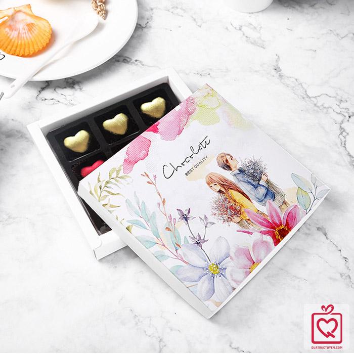 Socola Luvchocolate Tình yêu màu nắng