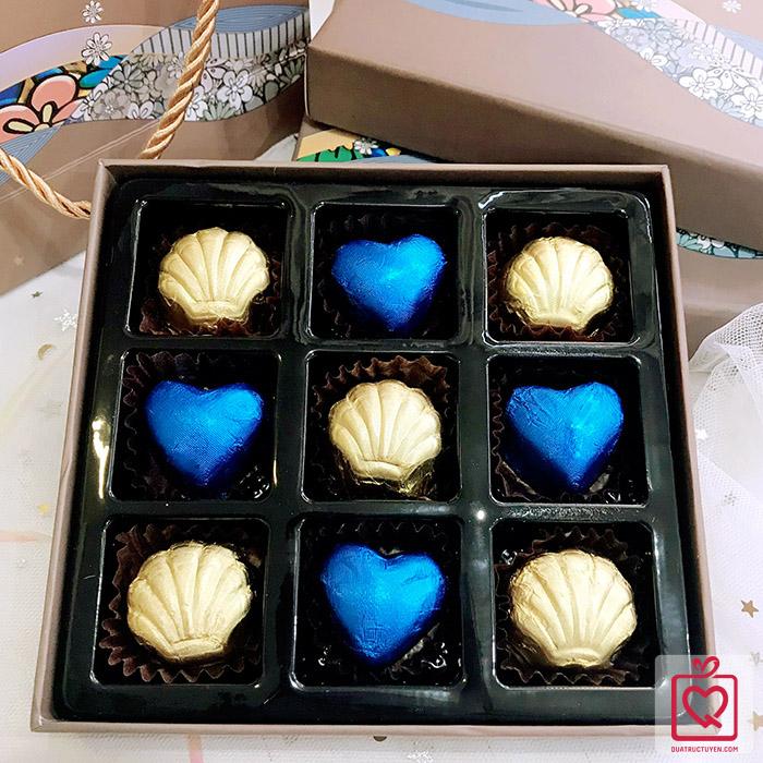 Socola Valentine LuvChocolate Chuyện tình của biển