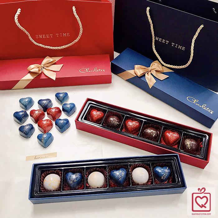 Socola Valentine Luvchocolate Đôi Tim Hẹn Ước