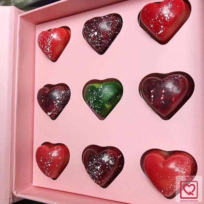 Socola Valentine tiểu thuyết tình yêu