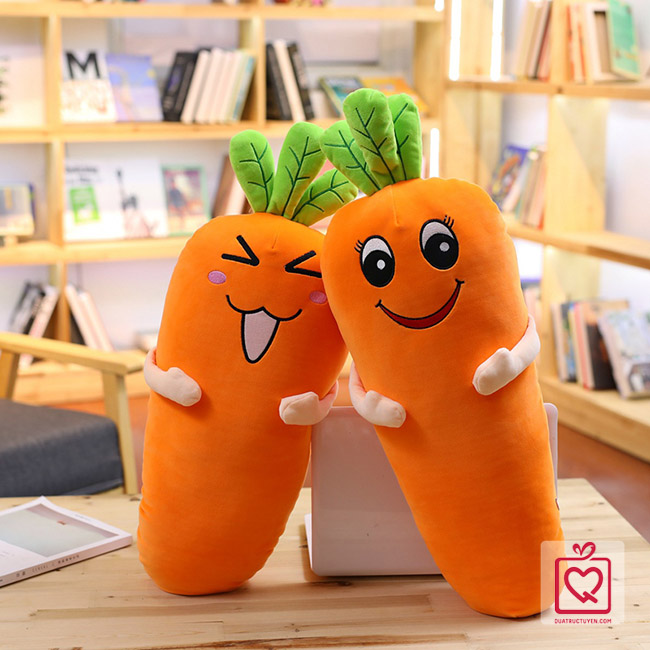 Bộ chăn gối 2 trong 1 cà rốt