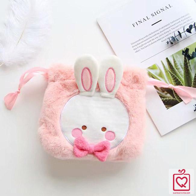 Set quà tặng thỏ hồng
