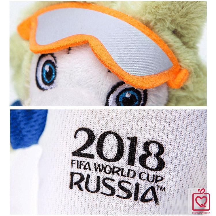 sói zabivaka linh vật world cup 2018