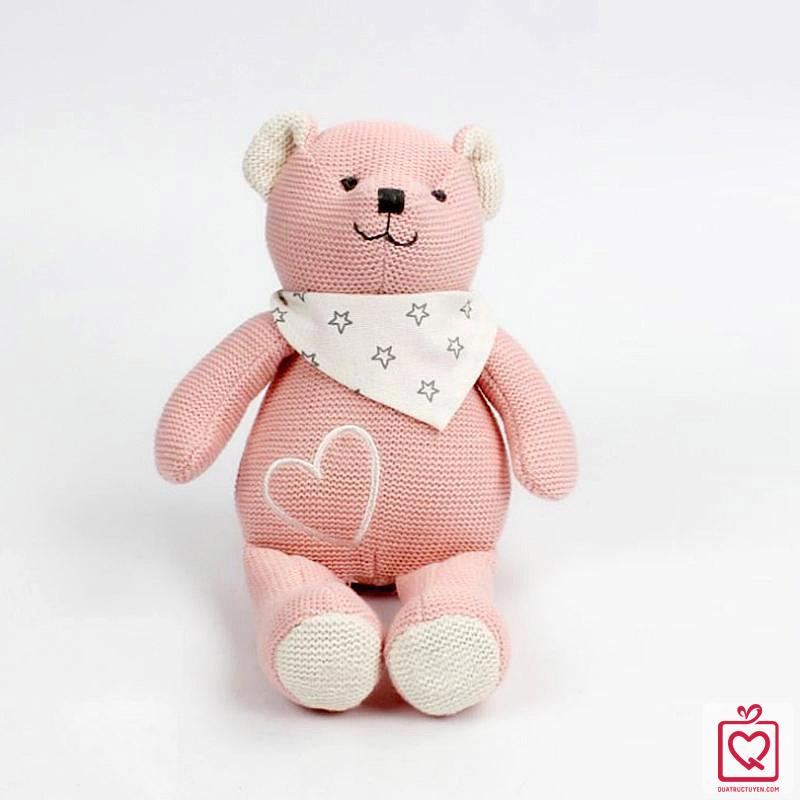 gấu bông len cao cấp