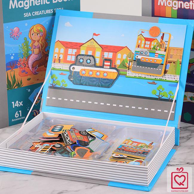 Bộ đồ chơi ghép hình - Giao thông thành phố