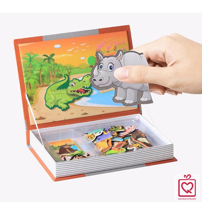 Bộ đồ chơi ghép hình - Khu rừng vui nhộn