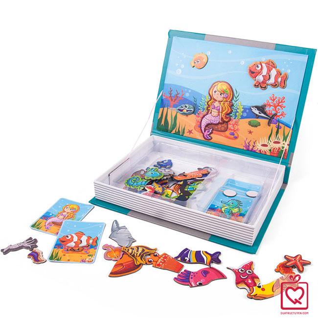 Bộ đồ chơi ghép hình - Đại dương diệu kỳ