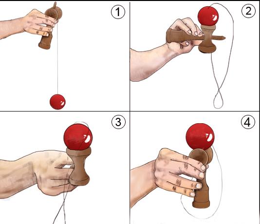 tung hứng Kendama