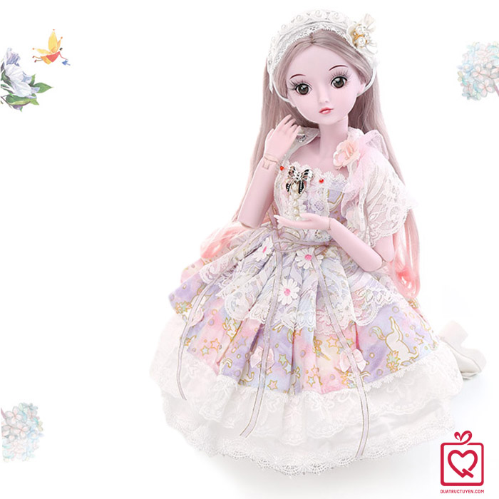 Búp bê công chúa khớp cầu Miyuki/ BJD Demi SD