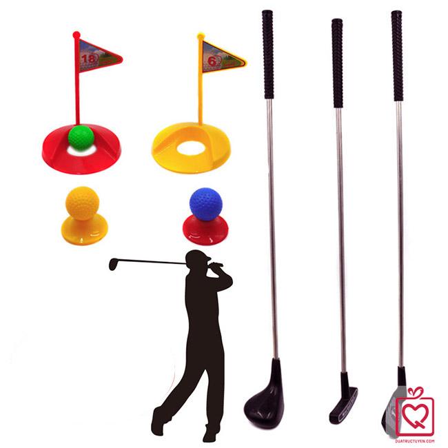 bộ đồ chơi đánh Golf cho bé