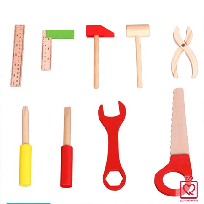 Bộ đồ chơi dụng cụ sửa chữa