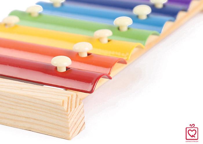 Đồ chơi âm nhạc cho bé - Đàn gõ Xylophone 8 thanh
