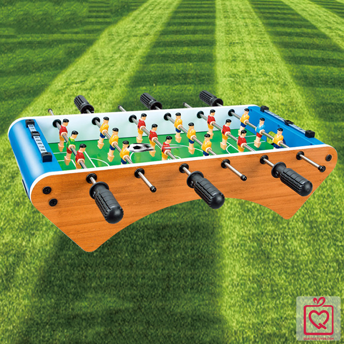 Đồ chơi bàn bi lắc 6 tay cầm bàn bóng đá Foosball