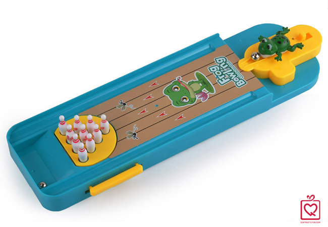 Bộ đồ chơi bowling ếch xanh trẻ em