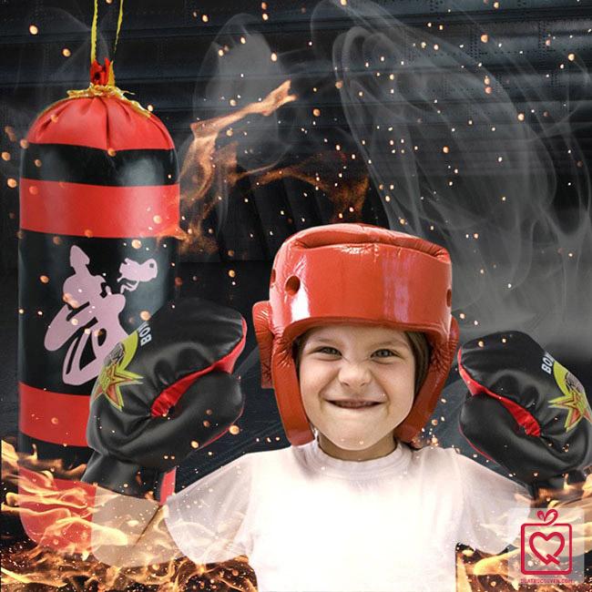Bộ đồ chơi đấm bốc Boxing mini