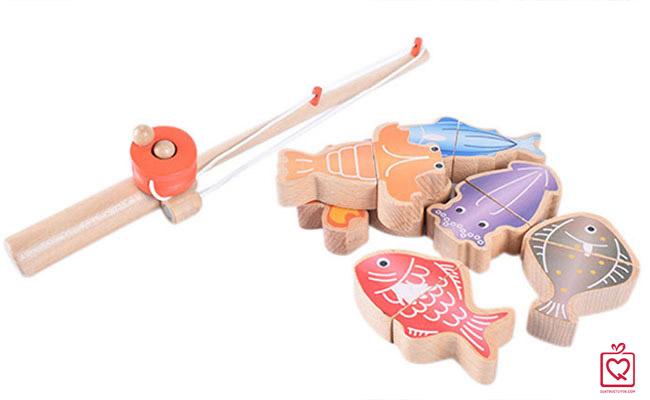 Đồ chơi gỗ câu cá