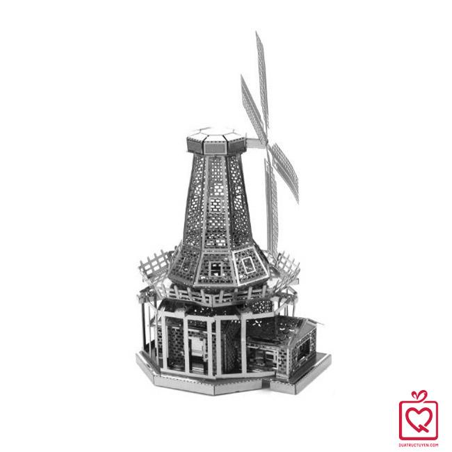 mô hình lắp ghép 3D cối xay gió