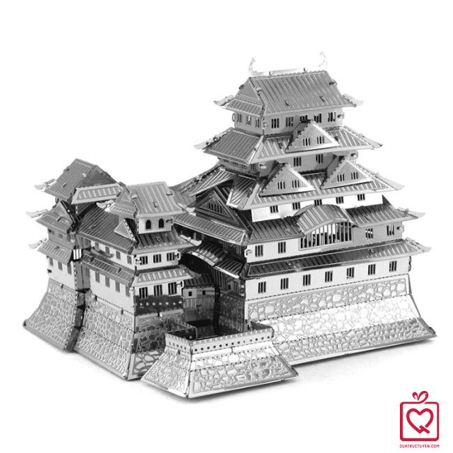 mô hình lắp ghép 3D lâu đài himeji