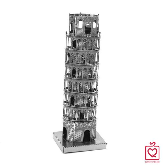 mô hình lắp ghép 3D tháp nghiêng Pisa