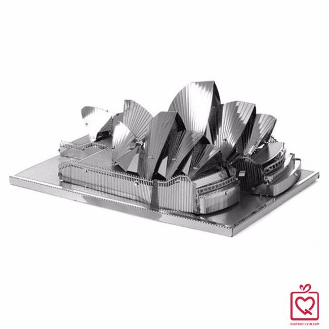 mô hình lắp ghép 3D nhà hát sydney