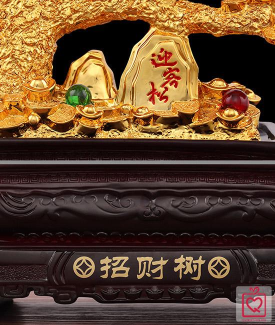 Cây tiền vàng tài lộc