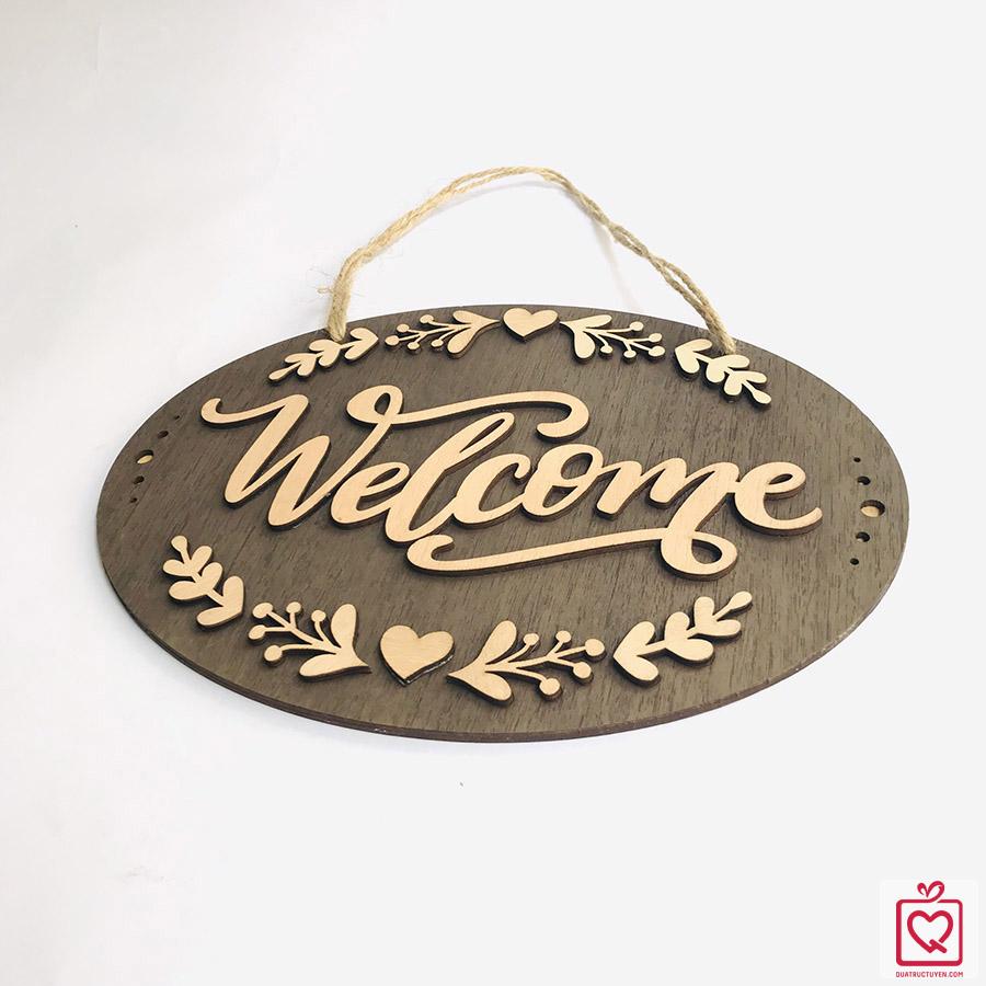 bien treo cua Welcome