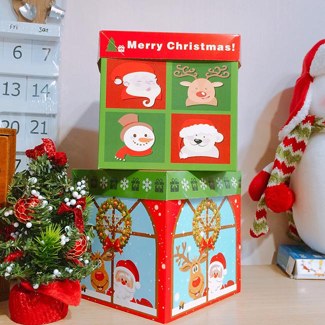 Hộp đựng quà giáng sinh