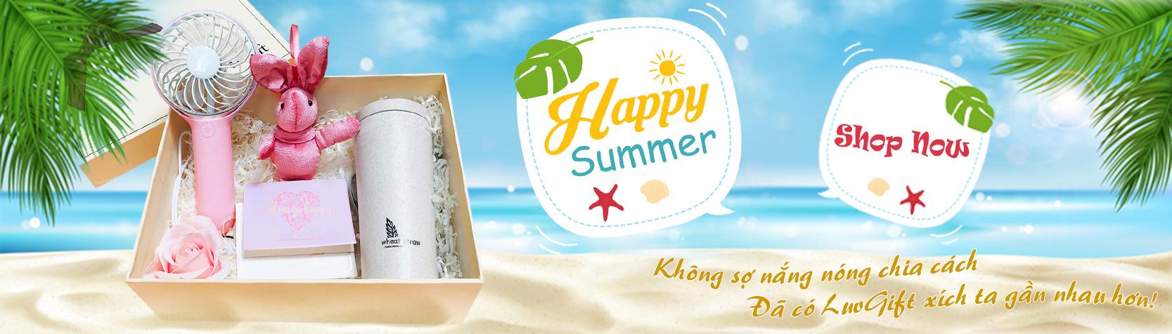 Banner Happy Summer