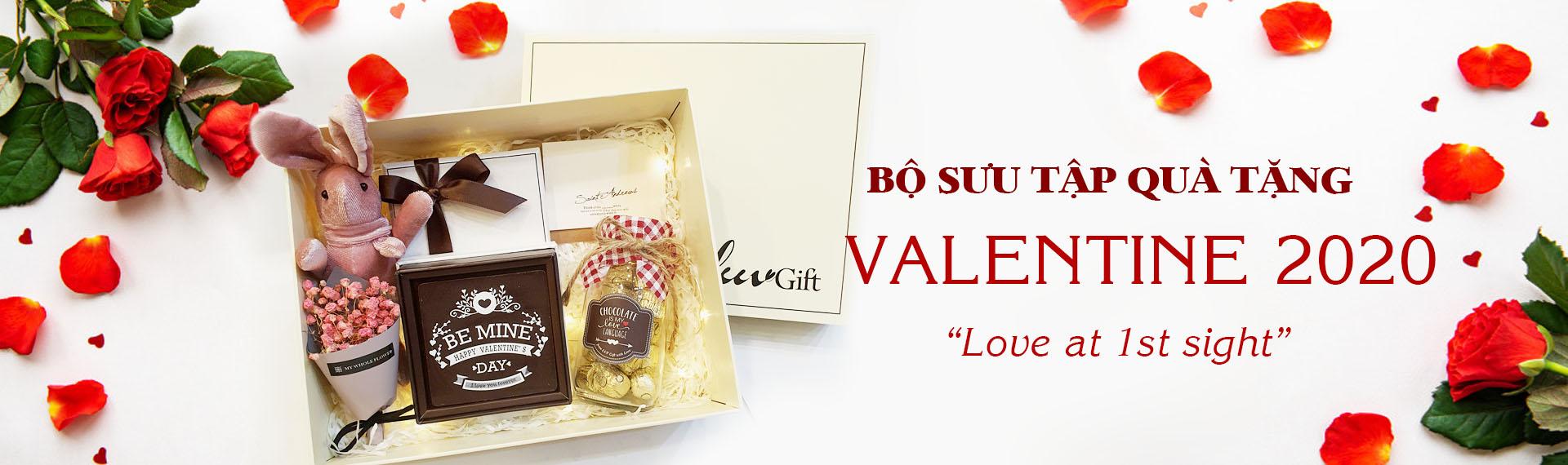 Bộ sưu tập quà Valentine 2020