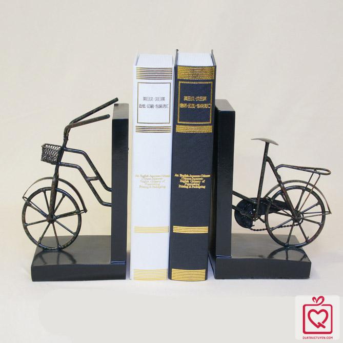 Bộ chặn sách xe đạp giả cổ