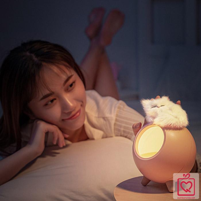 Đèn ngủ tổ ấm của mèo con