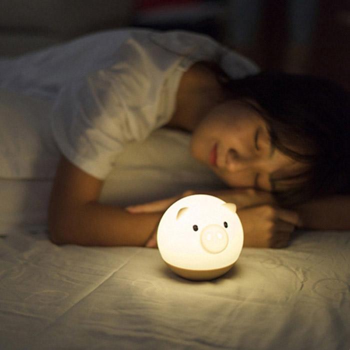 Đèn ngủ heo mập ngộ nghĩnh