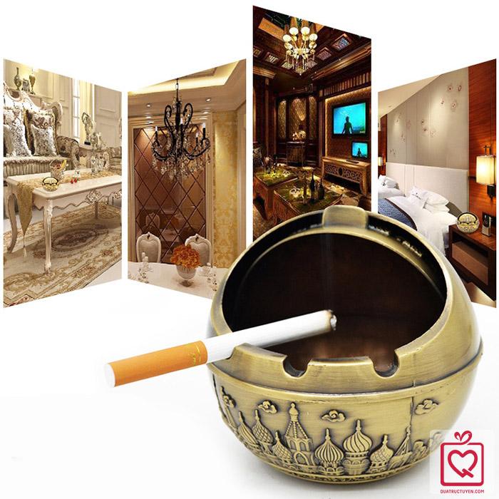 Gạt tàn thuốc tinh cầu hợp kim