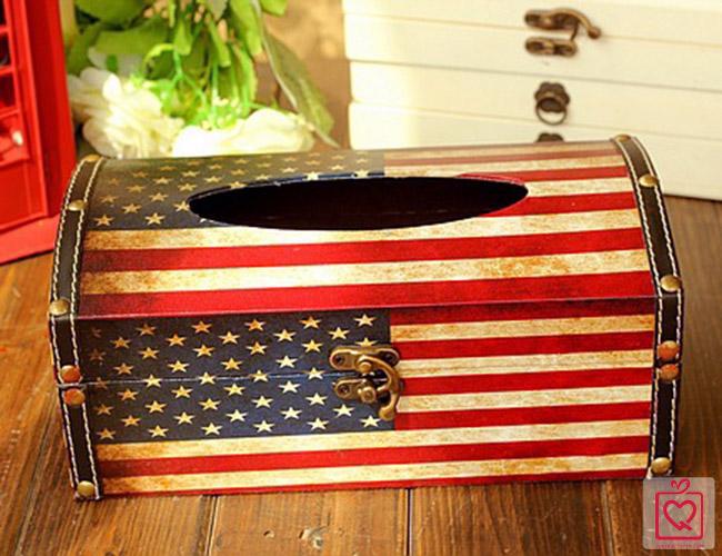 Hộp da đựng giấy quốc kỳ
