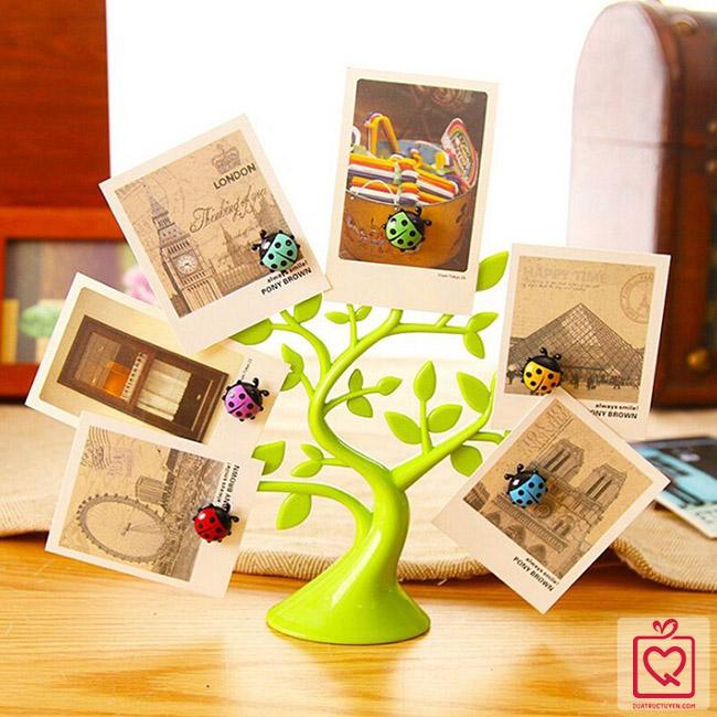 kẹp giấy hình cây