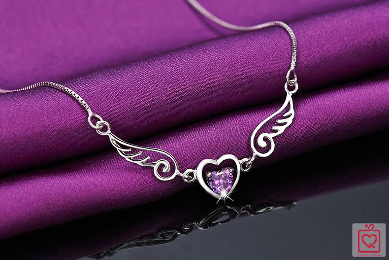 dây chuyền bạc thiên sứ