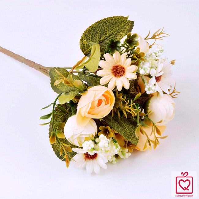 Cành hoa trà cúc