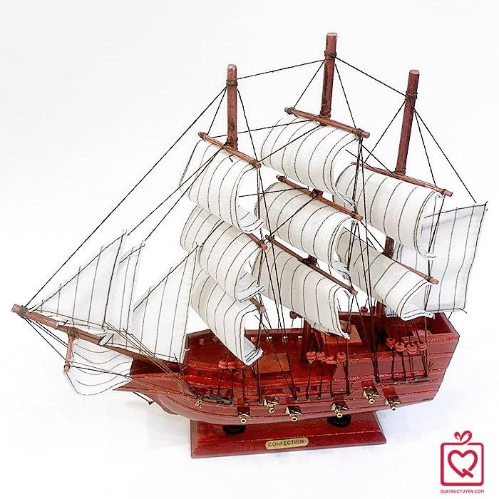 Mô hình thuyển buồm 33152G - 33cm