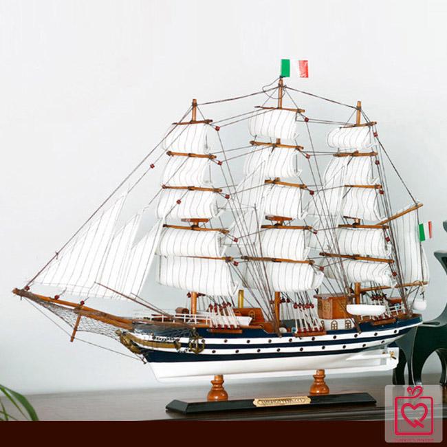 Mô hình thuyền buồm FJ65B3