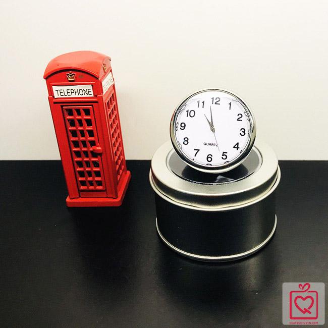 Đồng hồ mini bán cầu độc đáo