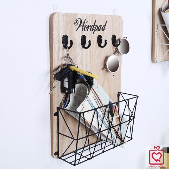 giá gỗ treo tường