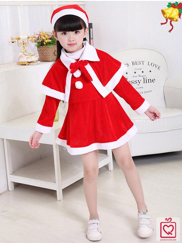 Bộ trang phục noel cho bé gái