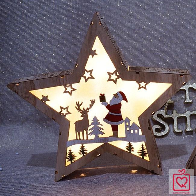 Hộp đèn ngôi sao giáng sinh
